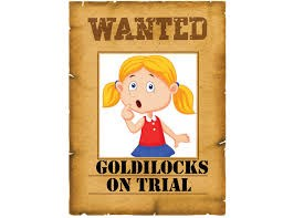 A picture of Goldilocks