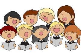 CARTOON CHARACTERS SINGING