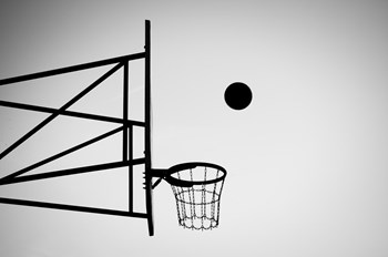 a picture of a basket ball hoop