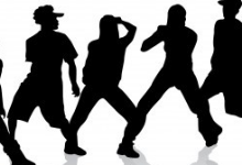 Picture of boys dancing