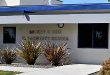 picture of Mickey Cox  school